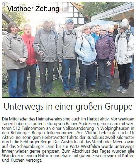 Unterwegs in Gruppe A